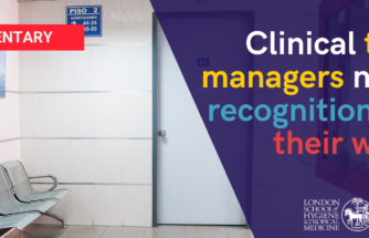 Clinical trial managers need recognition for their work
