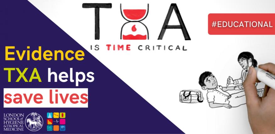 Evidence TXA helps save lives